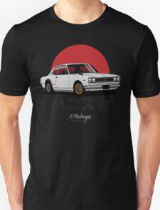 Nissan Skyline GT-R hakosuka (white) T-Shirt