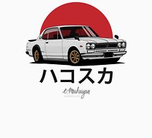 Nissan Skyline GT-R hakosuka (white) Unisex T-Shirt