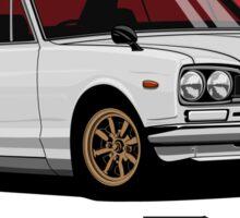 Nissan Skyline GT-R hakosuka (white) Sticker