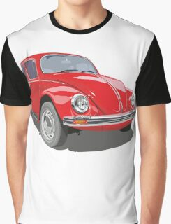 Red Bug Graphic T-Shirt