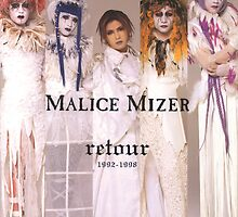 Malice Mizer Poster/Phone Case by Cantavanda