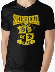 SKINHEAD PRIDE Mens V-Neck T-Shirt