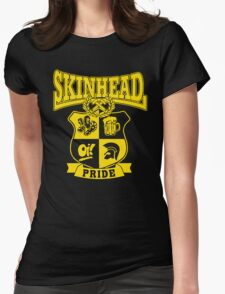 SKINHEAD PRIDE Womens Fitted T-Shirt