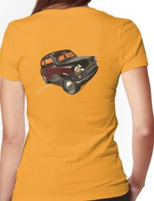 Retro car Womens Fitted T-Shirt