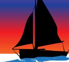 Sail away with me St. John Sticker