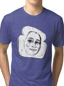 CUTE LAUREN JAUREGUI SKETCH Tri-blend T-Shirt