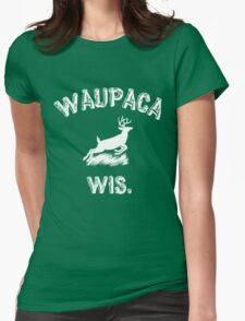 WAUPACA WIS. - Dustin's Stranger Things shirts Womens Fitted T-Shirt