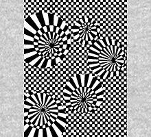 op art circles grid Unisex T-Shirt