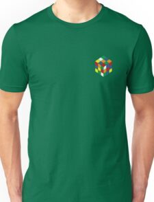 Rubiks Cube Minimal Unisex T-Shirt