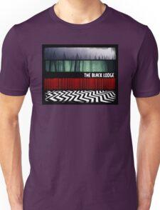 The Black Lodge : Twin Peaks Unisex T-Shirt