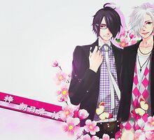 Brothers Conflict - Azusa and Tsubaki Asahina by Cantavanda