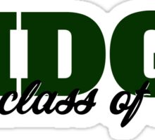 Ridge Class of 18 Sticker