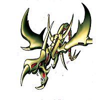 curse of dragon yugioh Photographic Print