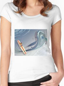 Lance's View Women's Fitted Scoop T-Shirt