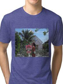 Caution!!! Tri-blend T-Shirt