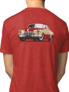 Retro car Tri-blend T-Shirt