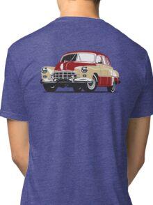 Retro car Tri-blend T-Shirt