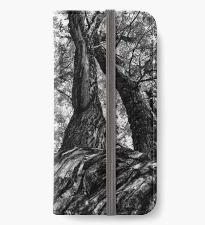 Reaching The Sky - Black Edition (iPhone wallet) iPhone Wallet/Case/Skin
