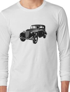 Retro car Long Sleeve T-Shirt