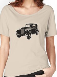 Retro car Women's Relaxed Fit T-Shirt