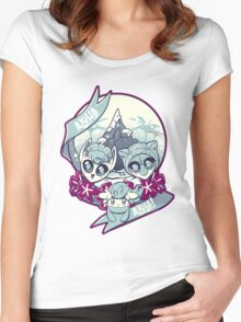 Aloha Alola! Women's Fitted Scoop T-Shirt