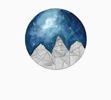 Geometric Mountains Unisex T-Shirt