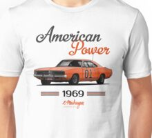 Dodge Charger 69 General Lee Unisex T-Shirt