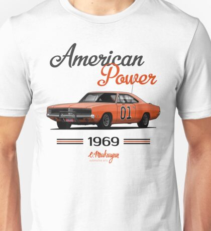 Dodge Charger 69 General Lee Unisex T-Shirt