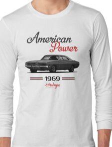 Dodge Charger 69  (black) Long Sleeve T-Shirt