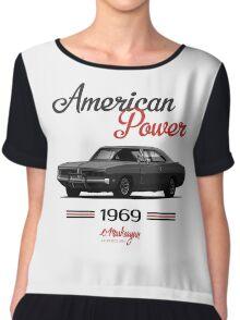 Dodge Charger 69  (black) Chiffon Top