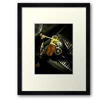 Steampunk Ladies Hat 2.0 Framed Print