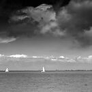 Four Boats by VanOostrum