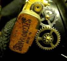 Steampunk Ladies Hat 2.0 Sticker