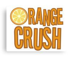 Orange Crush REM Song Lyrics Rock Music Fruit Canvas Print