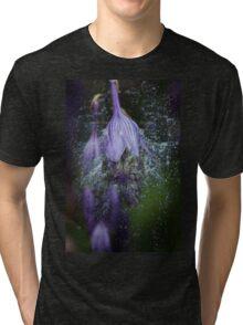 Purple Splash Tri-blend T-Shirt