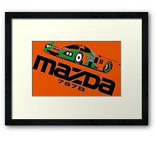 MAZDA 787B - 1991 LE MANS WINNER Framed Print