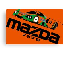 MAZDA 787B - 1991 LE MANS WINNER Canvas Print