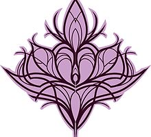 Damask Lily - Purple by wallyhawk