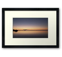 The time between dawn and daybreak Framed Print