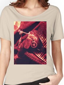 Steampunk Ladies Hat 2.1 Women's Relaxed Fit T-Shirt