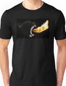 Flame Tongue Kitty Unisex T-Shirt