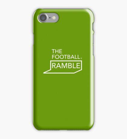Ramble logo green – cases iPhone Case/Skin