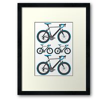 Road Bike Graphic Framed Print
