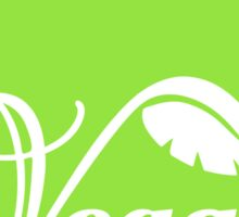 Vegan Apple Sticker