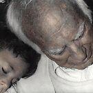 Grandpas Shoulder by Wayne King