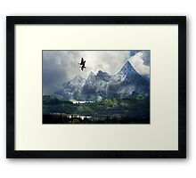 The Light and the Way. Framed Print