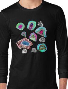 Geode Crystals  Long Sleeve T-Shirt