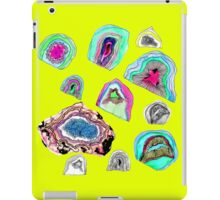 Geode Crystals  iPad Case/Skin
