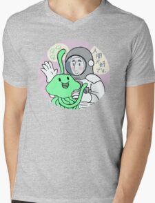 New friend? Mens V-Neck T-Shirt