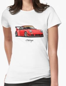 RWB (red) Womens Fitted T-Shirt